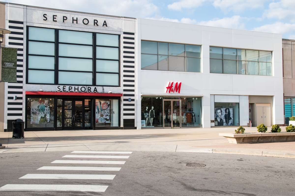 Sephora & H&M at Oxmoor Mall